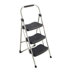 "WERNER COMPANY - 223-6 2-4 FT. STEPLADDER - STEP RIGHT(R) UTILITY STEP STOOL  Lightweight design, easy to use and store  3-step model with secure oversized -  slip-resistant steps  Mar-resistant feet - Comfortable tubular rails  Convenient hand grip  Height to platform: 2 ft. 4""  Rail length: 30"" - approximate width 18-1/2""  Approximate spread 25-9/16"" - weight 13 lb.    223-6 2-4 FT. STEPLADDER  DESC:Type II  LOAD CAPACITY: 225 Lb."