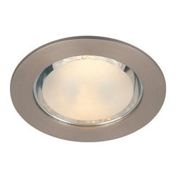 Commercial Electric - Commercial Electric 4 in. Brushed Nickel Shower Recessed Lighting Trim CER432G2B - Shop for Lighting & Fans at The Home Depot. The Commercial Electric 4 in. Shower Trim features a clean, elegant design that is ideal for the bathroom. This recessed trim is easy to install (bulb not included). UL/C-UL listed for wet location.