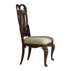 Hooker - Hooker Grand Palais Splat Back Side Chair-Dune Set of 2 - Hooker Furniture Grand Palais Splat Back Side Chair-Dune (Set of 2) 5272-75410