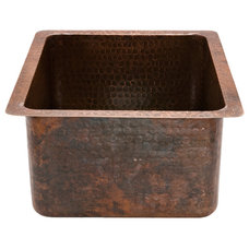 Rustic Bar Sinks by Lucido Copper