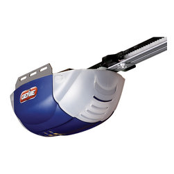 Genie - Genie 140-volt Garage Door Opener - Featuring a DC motor for easy lifting of heavy doors up to 500 pounds,this garage door opener from Genie features 1-touch limit setting for smooth,reliable operation. A belt drive system opens garage doors smoothly and quietly.