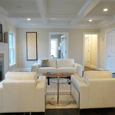 Contemporary Family Room by Gold Staging & Redesign