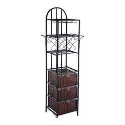 Genevieve Kitchen Storage Tower