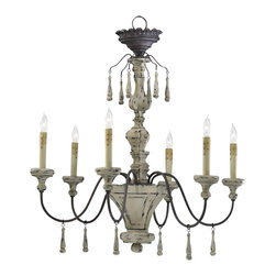 Cyan Design - Six Lamp Chandelier-6513-6-43 - Six lamp chandelier - carriage house