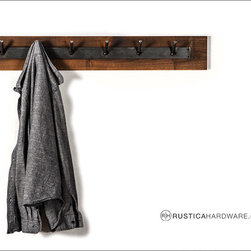 Home and Office Decor - Raw & Rustic Multi Hook Coat Hanger