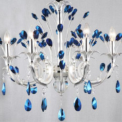 Modern Peacock Blue Crystal Chandelier - http://www.phxlightingshop.com/index.php?main_page=advanced_search_result&search_in_description=1&keyword=9989