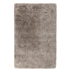 Surya - Milan Hand Woven Rug in Beige - This Hand Woven rug is made from New Zealand wool and polyester. This floor rug has a high pile to lend warmth and extra cushioning. Finished in beige and olive. Features: