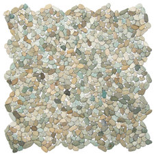 Beach Style Tile by Pebble Tile Shop