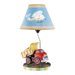 Teamson Design - Teamson Kids Transportation Collection Table Lamp - Teamson Design - Table Lamps - TD0035A. Add a beautiful hand made hand painted transportation collection lamp to your childs room. Its sure to brighten up any childs day and make a wonderful decorative piece.