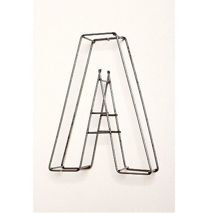 Modern Wall Letters by Urban Outfitters
