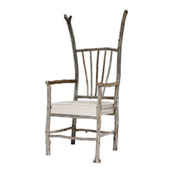 ecofirstart - Driftwood Kennebec Chair - Maine idea. This organically pleasing chair is made from driftwood found along the coast of Maine. Rustic yet refined, it's a natural choice for your beach house.