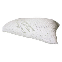 REST Sleep Tech - REST Eucalyptus Pillows, Queen - Sleep easy with the REST Eucalyptus Memory Foam Pillow in Queen or King size.
