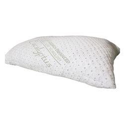 REST Sleep Tech - REST Eucalyptus Pillows, 2 Queen - Sleep easy with the REST Eucalyptus Memory Foam Pillow in Queen or King size.