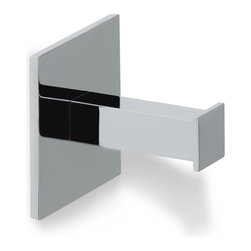 StilHaus - Contemporary Chrome Brass Robe Hook - Robe hook made of brass in chrome. Robe hook made of brass. Available in chrome. From StilHaus Urania Collection.