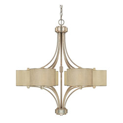 Capital Lighting - Transitional Capital 6 Light Chandelier - Beginning with design concepts from popular home fashions, they transform their ideas into lighting fixtures that blend timeless beauty with today's styling.