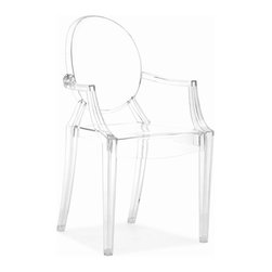 ZUO Modern - Anime Dining Chair in Transparent Acrylic (Set of 2) - 106104 - Anime Collection Dining Chair