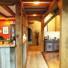 Craftsman  by Homestead Timber Frames