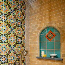 Mediterranean Bathroom by Filmore Clark