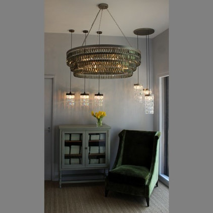 Eclectic Chandeliers by Tigermoth Lighting