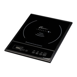 Berghoff - Berghoff Touch Screen Single Induction Cook Top - Power: 1600 Watt, stages 1-10, Temperature: 150 - 450 F, 120V, 60 Hz.  LED indication with the control panel, you can easily regulate power, time and temperature. Multiple protection design ensures 100% safety and reliability against overheat, over currents or over voltage input.  Takes up little space, is light and can be carried easily. Ideal for students, on a holiday, on a terrace, while camping or as a n addition to your existing hot plates.
