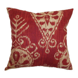 Pillow Collection - The Pillow Collection Hargeisa Ikat Pillow - P18-D-20937-DIJON-C100 - Shop for Pillows from Hayneedle.com! Like a faded bandana the rustic charm of The Pillow Collection Hargeisa Ikat Pillow looks like a well-worn favorite. Made of 100% plush cotton this bold square pillow features a plush 95/5 feather/down insert for an ultra-soft feel. The mix of traditional and modern blend seamlessly into an Ikat print that's sure to spruce up any room. Available in various colors so you can get the look that's just right for you.About The Pillow CollectionIdentical twin brothers Adam and Kyle started The Pillow Collection with a simple objective. They wanted to create an extensive selection of beautiful and affordable throw pillows. Their father is a renowned interior designer and they developed a deep appreciation of style from him. They hand select all fabrics to find the perfect cottons linens damasks and silks in a variety of colors patterns and designs. Standard features include hidden full-length zippers and luxurious high polyester fiber or down blended inserts. At The Pillow Collection they know that a throw pillow makes a room.