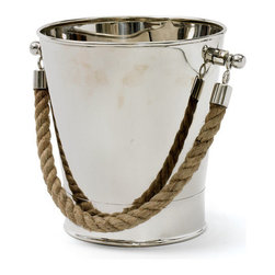 Cruise Ice Bucket - Make serving and dining a unique experience. This nautical ice bucket keeps your drinks cool and your decor chic.
