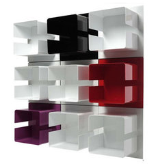 modern wall shelves by Made in Design