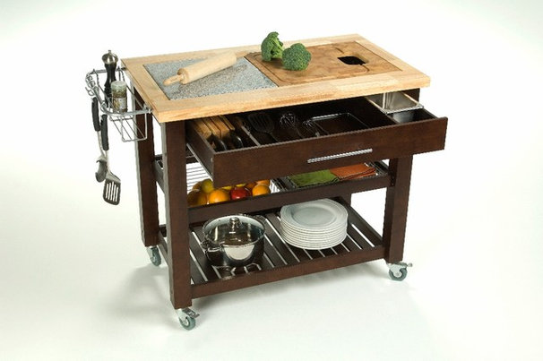 Contemporary Kitchen Islands And Kitchen Carts by Chris & Chris