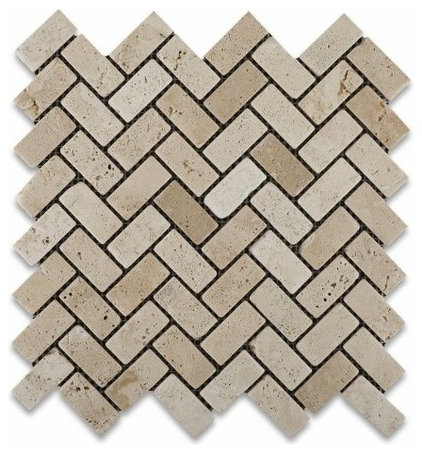 contemporary kitchen tile by Amazon