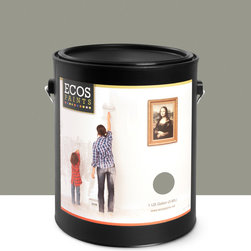 Imperial Paints - Eggshell Wall Paint, Gallon Can, Brushed Nickel - Overview: