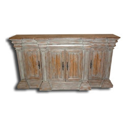 EuroLux Home - New Sideboard Reclaimed Wood Religious Heavy - Product Details