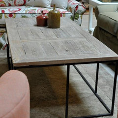 coffee tables by Cornerstone Home Interiors