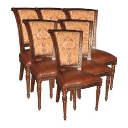 EuroLux Home - Set/6 Side Chairs European Style - Product Details