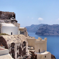 Sunny Santorini - Art prints, framed prints, canvas prints and more available.