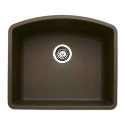 Blanco 440172 Diamond Single Bowl Silgranit II Undermount Kitchen Sink In Cafe B -