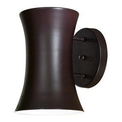 "Minka Lavery - Minka Lavery Outdoor 72142-615B-PL Forio Dorian Bronze 1 Light Wall Sconce - 6.75"" W x 9.5"" H x 8.25"" Ext"