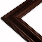The Frame Guys - Traditional Mahogany Picture Frame-Solid Wood, 8x8 - *Traditional Mahogany Picture Frame-Solid Wood, 8x8