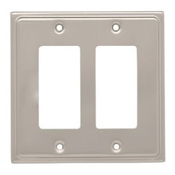Liberty Hardware - Liberty Hardware 126479 Country Fair WP Collection 4.96 Inch Switch Plate - Sati - A simple change can make a huge impact on the look and feel of any room. Change out your old wall plates and give any room a brand new feel. Experience the look of a quality Liberty Hardware wall plate.. Width - 4.96 Inch,Height - 4.9 Inch,Projection - 0.2 Inch,Finish - Satin Nickel,Weight - 0.27 Lbs