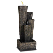Eclectic Outdoor Fountains by Water Feature Supply LLC