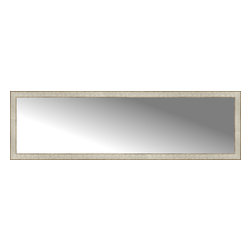 """Posters 2 Prints, LLC - 71"""" x 21"""" Libretto Antique Silver Custom Framed Mirror - 71"""" x 21"""" Custom Framed Mirror made by Posters 2 Prints. Standard glass with unrivaled selection of crafted mirror frames.  Protected with category II safety backing to keep glass fragments together should the mirror be accidentally broken.  Safe arrival guaranteed.  Made in the United States of America"""