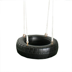 Swing-N-Slide Classic Tire Swing - The classic tire swing is perfect for children and adults.