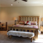 Barnwood Beds - DD Ranch Bed