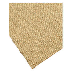 """Natural Area Rugs - """"Stanford"""" Sisal Rug, 100% Natural Fiber - All natural sisal rug handcrafted by Artisan rug maker. Naturally durable and anti-static, this earth friendly rug is great for high traffic areas. Enjoy this self bound sisal rug with non-slip latex backing along with its stylish and contemporary look. Variations are part of the natural beauty of natural fiber. We recommend a rug pad as it will protect not only your rug but your hardwood floor as well."""
