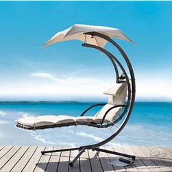 Dream Chair Chaise Lounge - If I had a backyard pool or lived near a beach, I would have this in my yard.
