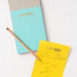 "Anthropologie - Letterpress Notepad - Set of 30 notesCardstock, paper6.25""H, 4.5""WUSA"