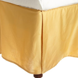 Egyptian Cotton 300 Thread Count Solid Bedskirt - Our 100% Egyptian Cotton Sheets cannot be beaten when it comes to the price. You will not find better quality at a better price!