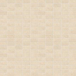 "Marca Corona - Stoneline Ivory Natural 1"" x 2"" Mosaic - Sold by the Piece"