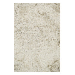 Loloi Rugs - Loloi Rugs Royal Shag Collection, Beige - The Royal Shag lives up to its name with beautifully subtle variances in color. This sophisticated yet playful collection out of India features lush, hand-crafted strands of polyester.