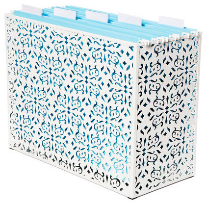 modern filing cabinets and carts by The Container Store