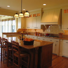 Traditional Kitchen by Ronald F. DiMauro Architects, Inc.